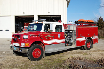 West Wildwood Engine 2138 1992 International-Pierce 1250-1000 Photo by Chris Tompkins