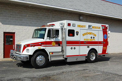 Bridgeton Rescue 721 1996 Freightliner - Rescue1 Photo by Chris Tompkins