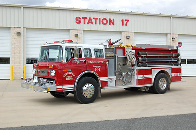 Cedarville Engine 1701 1988 Ford800-EOne 1000-1000 Ex. Fortasque Photo by Chris Tompkins