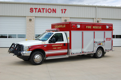 Cedarville Rescue 1722 2003 Ford F550-EVI Photo by Chris Tompkins
