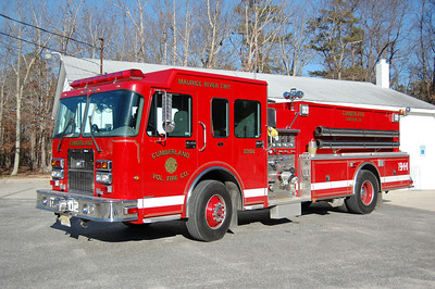 Cumberland FD of Maurice River Township Tanker 2302 2005 Spartan Advantage FF 1250-2000 Photo by Chris Tompkins