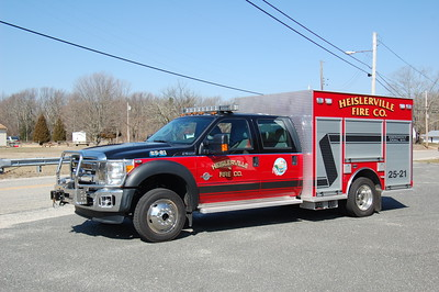 Heislerville Rescue 2521 2012 Ford F550-KME Photo by Chris Tompkins