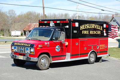 Heislerville Rescue 2521 1989 Ford Ecoline - MedTec Photo by Chris Tompkins