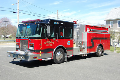 Heislerville Engine 2501 2001 Spartan - Marion 1250-1000 Photo by Chris Tompkins