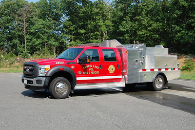 Laurel Lake of Commercial Township Brush 13-07 2010 Ford F550-Custom Works 250-400 Photo by Chris Tompkins