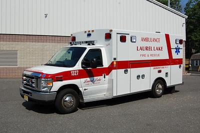 Laurel Lakes Ambulance 1327 2010 Ford-Braun Photo by Chris Tompkins