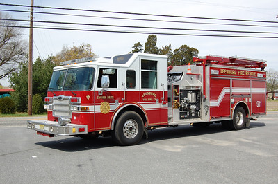 Leesburg Engine 26-01 2008 Pierce Dash 2000-1000-30A Photo by Chris Tompkins
