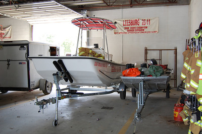 Leesburg Rescue Boats. Photo by Chris Tompkins