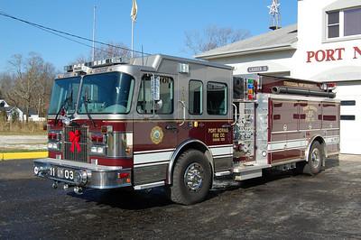 Port Norris of Commercial Township Engine 1103 2005 Spartan Advantage FF - Elite 2000-1800 Photo by Chris Tompkins