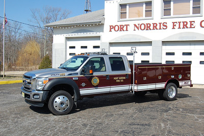 Port Norris Utility 1107 2012 Ford F450-Reading Photo by Chris Tompkins