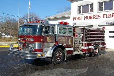 Port Norris of Commercial Township Engine 1102 1979 Hahn 1250-750 1993 Refurb by R.D.Murray Photo by Chris Tompkins