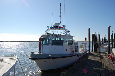 Port Norris of Commercial Township Marine 11. Ex. State Police Photo by Chris Tompkins
