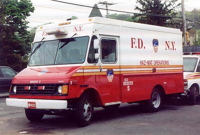 FDNY Rescue 5 - Haz-Mat Ops. (2004)