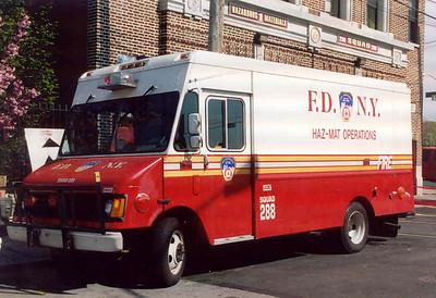 FDNY Squad 288, Haz-Mat Ops. (2003)