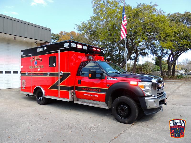 Largo Fire Rescue Ambulance 42