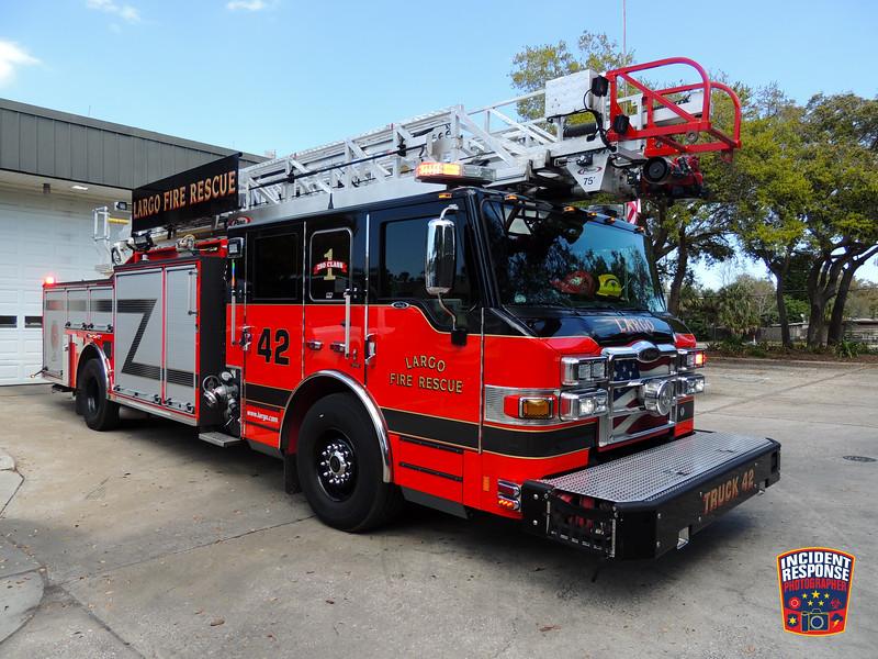 Largo Fire Rescue Ladder Truck 42