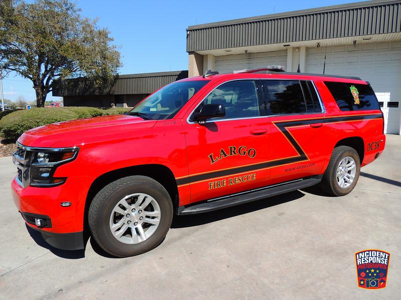 Largo Fire Rescue District Chief 38