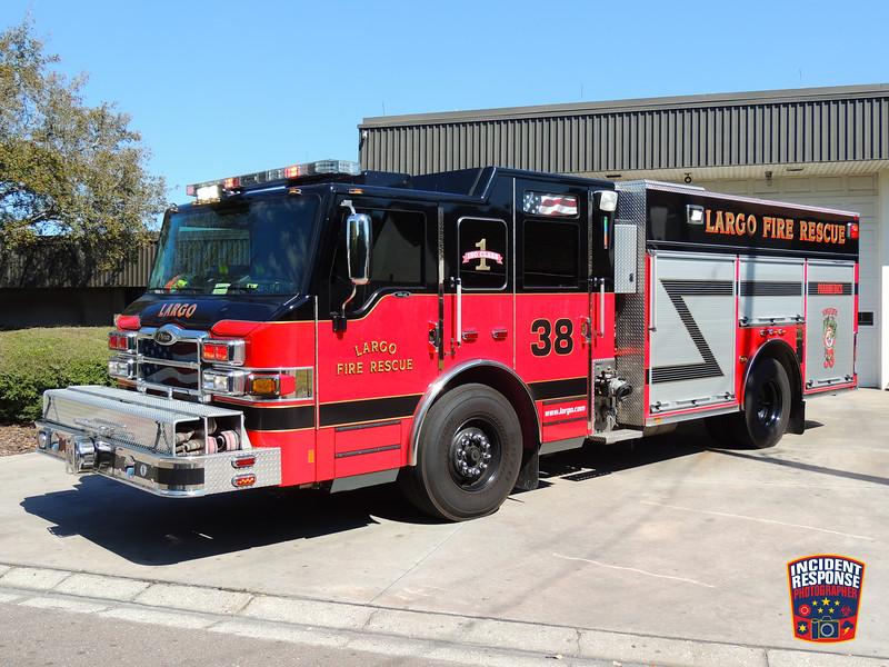 Largo Fire Rescue Engine 38