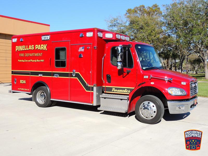 Pinellas Park Fire Dept. Rescue 43