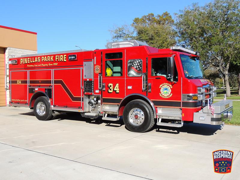 Pinellas Park Fire Dept. Engine 34