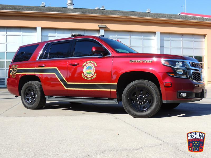 Pinellas Park Fire Dept. District Chief 35