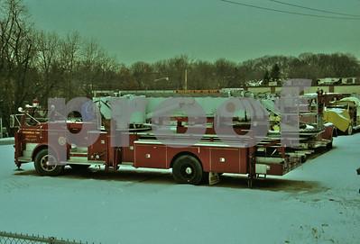 Fire Truck Graveyard