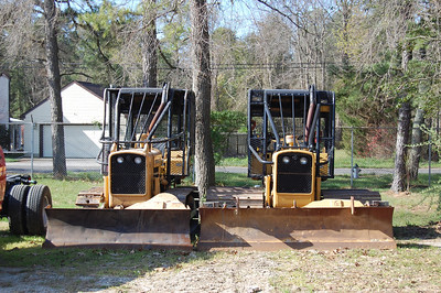 NJ Forest Fire Dozers Photo by Chris Tompkins