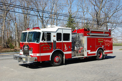 Aura section of Elk Twp, Engine 39-18 2001 KME Excel 1250-1000 Photo by Chris Tompkins
