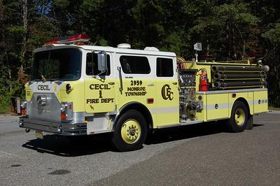 Cecil Engine 2959 1974 Mack CF 1000-1000