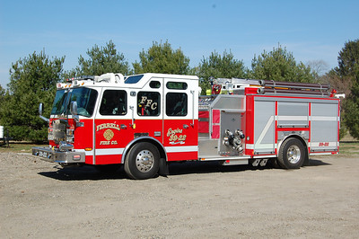 Ferrell section of Elk Twp, Engine 39-22 2008 E-One Typhoo 1500-1000 -30A Photo by Chris Tompkins