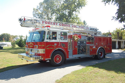 Forest Grove EX. Squirt 43-56 1988 Pierce Dash 1000-500-55' Photo by Chris Tompkins