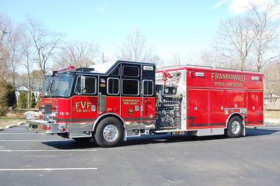 Franklinville Rescue Engine 43-18 2006 KME Predator 2250-500 Photo by Chris Tompkins
