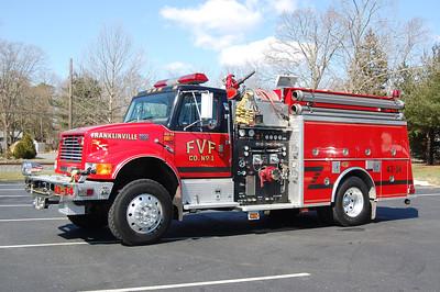 Franklinville Engine 43-14 1999 International-KME 1250-1000 Photo by Chris Tompkins