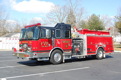Franklinville Engine 43-11 1994 KME Renegade 2000-1000 Photo by Chris Tompkins
