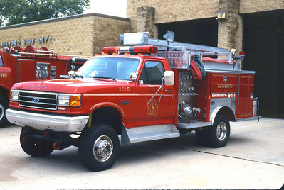 Glassboro Mini Pumper 1990 Ford F-Superduty 450-300 Photo by Chris Tompkins