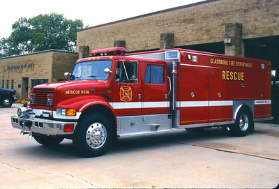 Glassboro Rescue 26-18 1994 International / EVI Photo by Chris Tompkins
