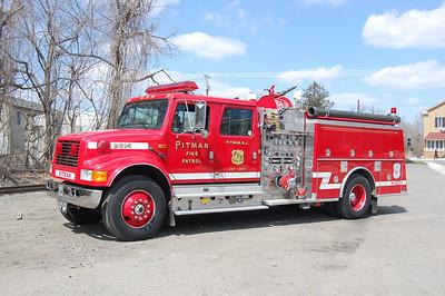 Pitman 28-14 1993 International -KME 1250-750-25A  Ex Fire Patrol Photo by Chris Tompkins