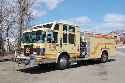 Pitman Rescue Pumper 2818 1997 Spartan - Smeal 1500-500