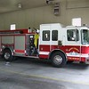 HCFR Engine 1 is one of four Ferrara pumpers with 1000 gallon tanks. All were purchased last year.