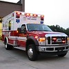 HCFR Medic 36 is one of many new Ford Wheeled Coach (I think) ambulances.