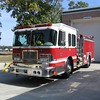HCFR Engine 7 is a Luverne pumper with a 1000 gallon tank. It has a six man cab and is one of 5 similar engines. All other Luvernes have drop tanks for rural ops.