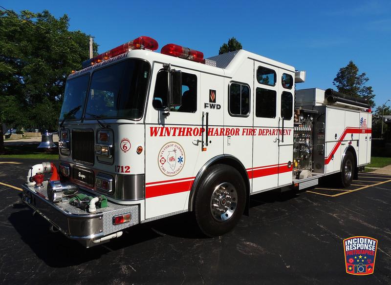 Winthrop Harbor Fire Dept. Engine 1712