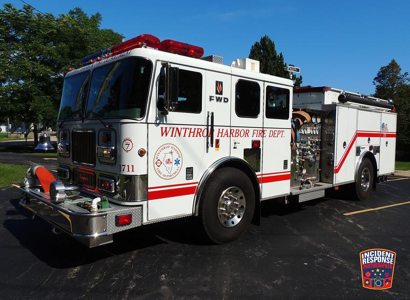 Winthrop Harbor Fire Dept. Engine 1711