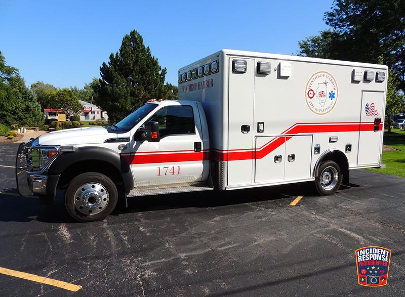 Winthrop Harbor Fire Dept. Ambulance 1741