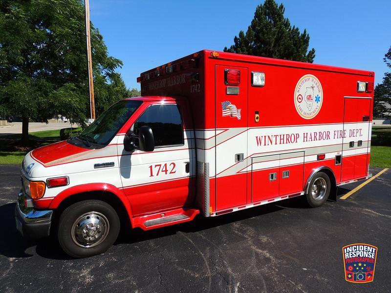 Winthrop Harbor Fire Dept. Ambulance 1742