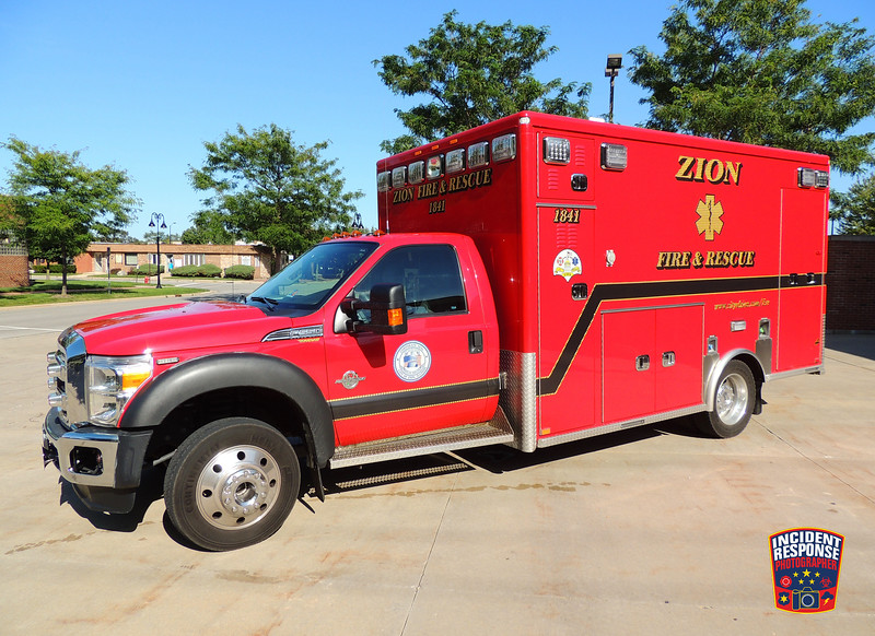 Zion Fire Dept. Ambulance 1841