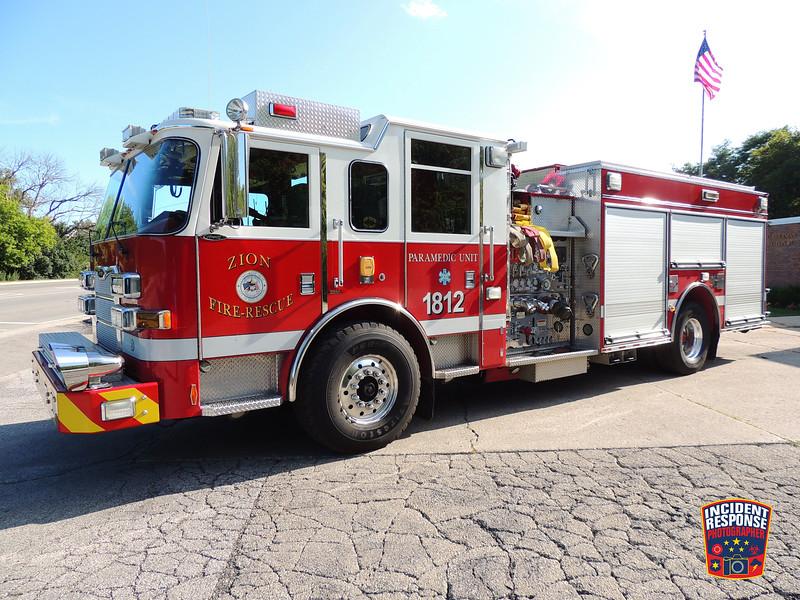 Zion Fire Dept. Engine 1812