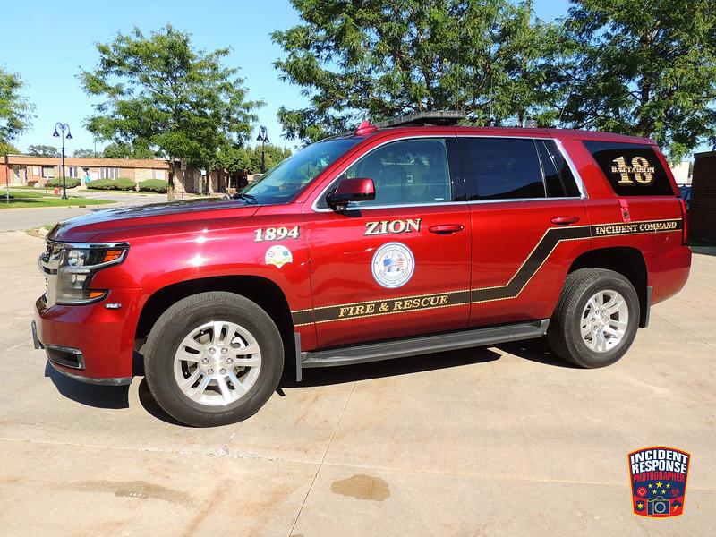Zion Fire Dept. Battalion Chief 18