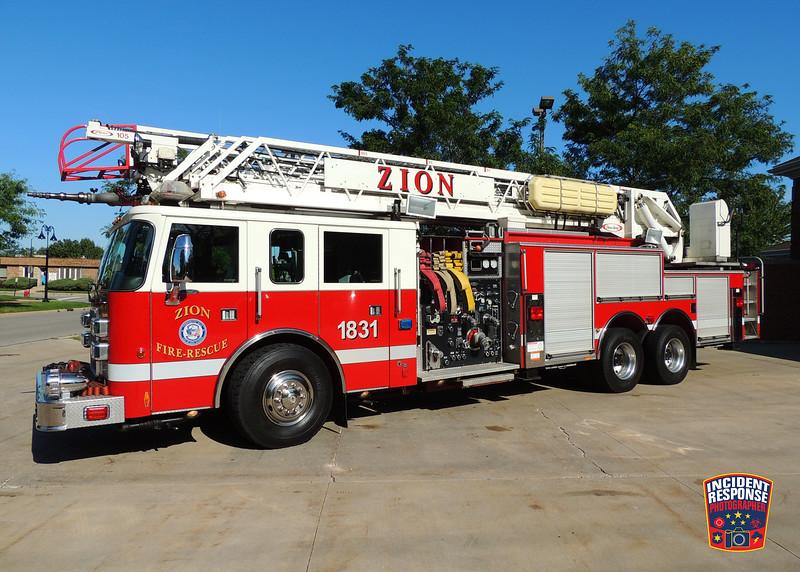 Zion Fire Dept. Ladder Truck 1831
