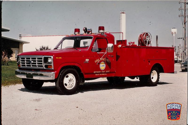 Clark Oil Refinery Fire Dept. Truck 1
